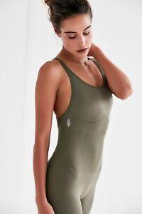 New Free People Movement Activewear Seamless Jumpsuit Chakra Bodysuit Xs-L $98
