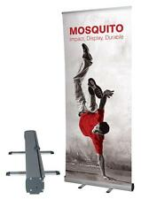 ROLL UP BANNER display 85x200 espositore roll-up autoavvolgente PVC Hi-Quality