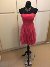 Women WINDSOR Prom/Homecoming/Formal Pink Sparkle Dress SIZE 9