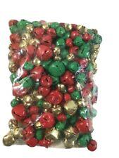 Craft Kits & Supplies 200 Christmas Jingle Bells - Crafts Beads Party Decor Etc