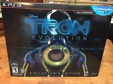 TRON EVOLUTION PS3 Collector's Edition Playstation 3 Factory Sealed