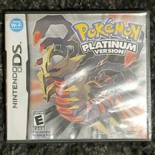 Pokemon -- Platinum Version (Nintendo DS, 2009) Authentic with Case and Booklet