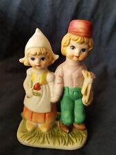 Vintage Royal Crown Ceramic Dutch Boy and Girl Figurine