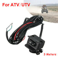 3Meter ATV/UTV Winch Rocker Switch Handlebar Control-Line Mount Warn Replacement