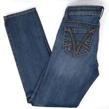Kut From Kloth Womens Jeans Blue Medium Wash Stevie Straight Leg Size 0 (L3#118)