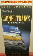 Greenberg's Guides Lionel Trains Pocket Price Guide 2001