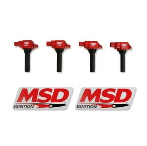 MSD 82544 Blaster Direct Ignition Coil Set For 17 Toyota 86 NEW
