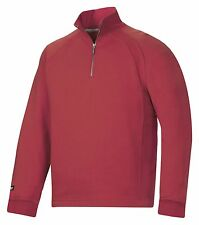 Snickers 2810 Classic Sweatshirt Mens SnickersDirect Red