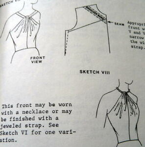 Vintage Pattern Drafting SEWING BOOK Designing Apparel