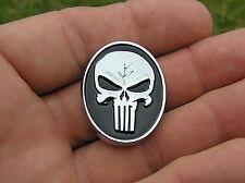 ~ PUNISHER SKULL LAPEL VEST PIN Badge *NEW* Motorcycle suits Harley Davidson