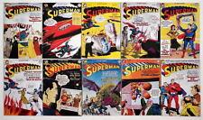 """(10) SUPERMAN COMICS 2"""" x 3"""" COVER MAGNETS - Superman #71-80"""