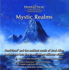 Mystic Realms Hemi-Sync Monroe Products Theta music CD New Meditation/Relaxation
