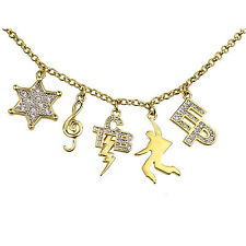 "Elvis Necklace "" Star-Note-Tcb-Elvis-EP""Charms"