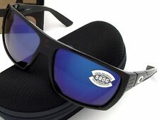 NEW Costa Del Mar HAMLIN Tortoise & 580 Blue Mirror Glass 580G