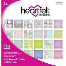 Heartfelt Creations Patchwork Daisy Paper Collection HCDP1-296