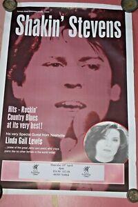 Shakin Stevens Kings Lynn 1999 Concert Promo Poster
