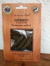 Encens rare purifiant Esperanto  artisanal ingrédients naturels équitable n°82