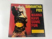 Samantha Fox I Wanna Have Some Fun 12 Inch Single Vinyl Record
