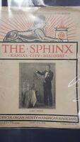 Vintage The Sphinx Issue LORING CAMPBELL 1930
