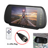 Van Truck Rear View 7inch LCD 4Pin Plug Monitor Mirror For Reverse/Front Camera
