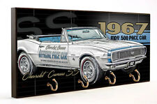 1967 Chevrolet Camaro Indy 500 Pace Car Four Hook Key Hanger