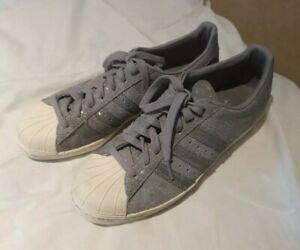 Women's Adidas Original  Superstar  80S Foil Animal  Print Suede  S1327 Size Uk8