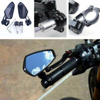 Motorcycle Rear View Side Mirrors Handlebar Bar Set For Honda GROM MSX125 CB50