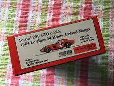 MODEL FACTORY HIRO MFH 1/24 FERRARI 250 GTO 64 Le Mans No. 25 K-091