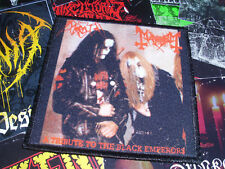 Morbid Mayhem Patch Black Metal Tribute To The Black Emperors