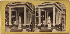 Venus Estatua por J. Gibson Londres UK Foto Estéreo Vintage Albúmina 1862