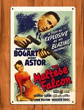 "TIN-UPS Tin Sign ""The Maltese Falcon"" Vintage Movie Art Poster"