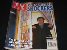 TV GUIDE GARY COLE AMERICAN GOTHIC HORROR SISKEL EBERT HALLOWEEN ELVIRA BRUNO