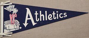 vintage Kansa City Athletics pennant KC Athletics