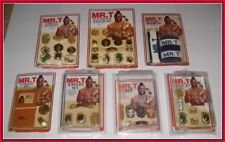 VINTAGE 1983 IMPERIAL MR. T JEWELRY LOT OF 7 SETS - I.D.Jogging Club Membership