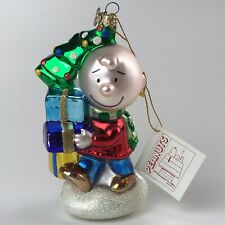 Kurt S. Adler Polonaise Collection Peanuts Charlie Brown Christmas Ornament