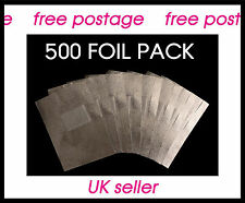 500 High Quality Nail Foil Wraps for Removal of all makes UV/LED Gel Nail Polish