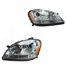 Mercedes Benz W164 ML320 ML350 Kit of Left and Right Headlight Assembly Hella