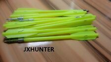 "10 x Metal 6.6"" fishing Crossbow Hunting Bolts Arrows With Steel Tips JYXhunter"