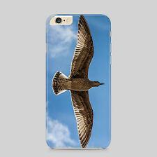 Seagull aves de vuelo rápido Funda de teléfono de la naturaleza