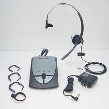 Plantronics S12 Mono Auriculares de Diadema para Oficina Teléfono con Ca