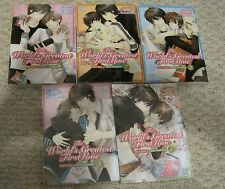 The World's Greatest First Love By Shungiku Nakamura vols 1-5 yaoi manga English