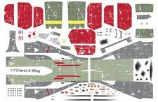 Star Wars Decals Bandai 1/72 A-Wing Hera phoenix squadron