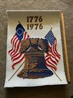 Vintage Freedom Floor Rug Liberty Bell Bicentennial 1716 -1976 Carpet Co.