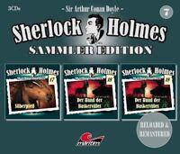 SHERLOCK HOLMES SAMMLER EDITION-FOLGE 7 (DER HUND DER BASKERVILLES/+) 3 CD NEU