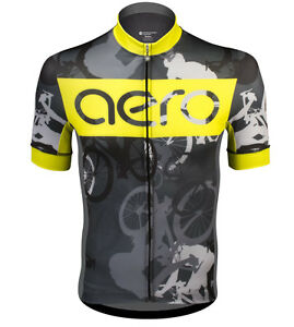 Aero Tech Designs Men's Premier Urban Camouflage Bike Racing Jersey Made in USA