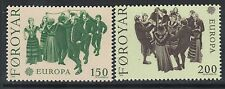 Faroe Islands Sc# 63-64 VF Mint NH Set Europa