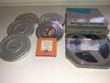 LOT DE FILMS D'AMATEURS 8MM  (+/-650 METRES)  ANNEES 50's & 60's.