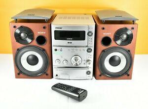Sony Mini Hi-Fi Component System CMT-CPZ1 Stereo DAB Radio CD MP3 Tape Remote