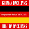 40x high DA authority german Google sichere deutsche Backlinks+10 Facebook Feeds