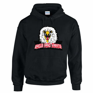 EAGLE FANG KARATE HOODIE Hoody Miyagi Cobra Kai Karate Kid Retro Adults